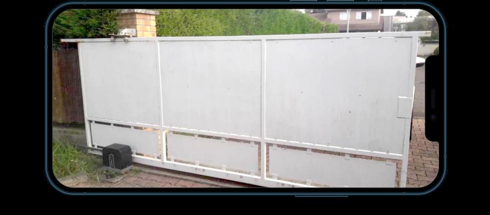 Réparation portail coulissant