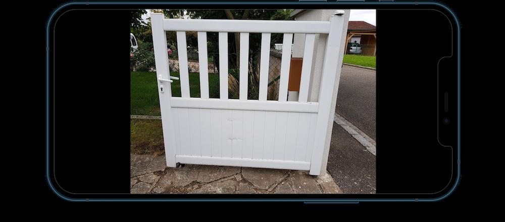 Réparation portail 2 vantaux