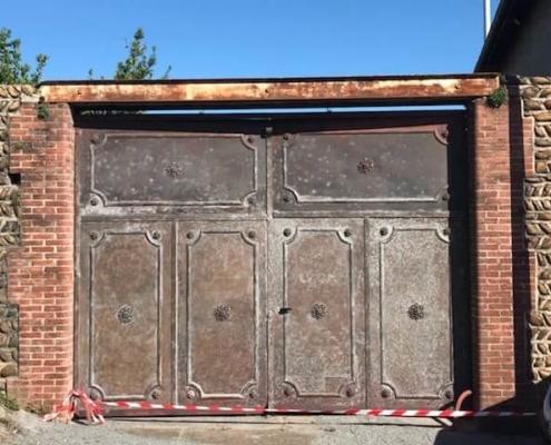 Réparation et rénovation d'un vieux portail